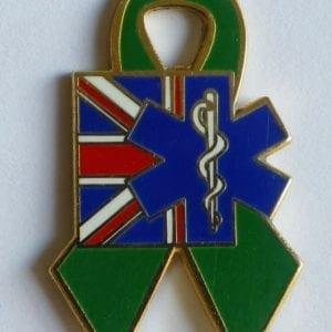 PTSD Badge for TASC, The Ambulance Staff Charity